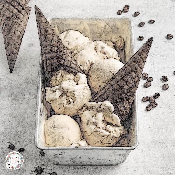 Coffee ☕ Ice Cream 🍨