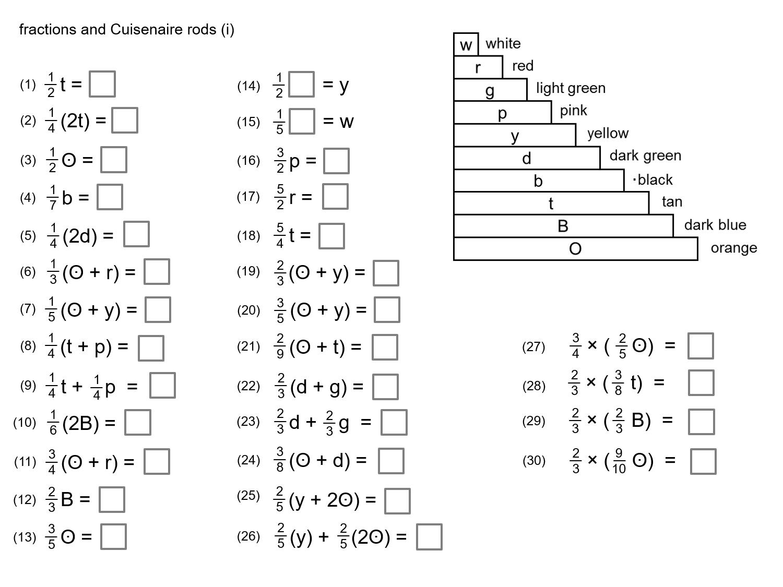 Median Don Steward Mathematics Teaching Cuisenaire Rods