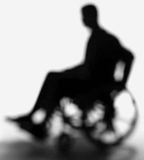 Resultado de imagem para a sombra de cadeirante