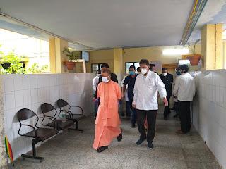 मुख्यमंत्री योगी ने कोविड-19 पर नियन्त्रण एवं रोजगार सृजन के सम्बन्ध में समीक्षा बैठक की                                                                                                        संवाददाता, Journalist Anil Prabhakar.                                                                                               www.upviral24.in    Chief Minister Yogi holds review meeting regarding control and employment creation on Covid-19