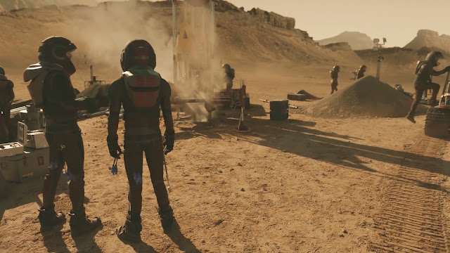 Mining - image from Season 2 of NatGeo MARS TV series