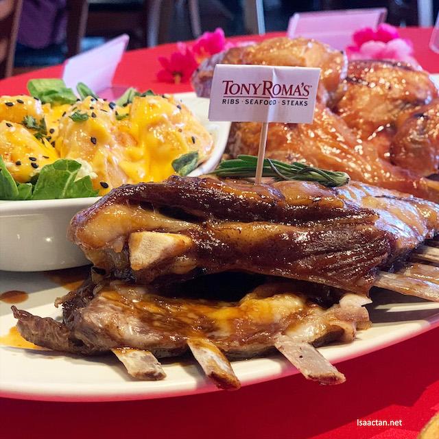 Tony Roma's Reunion Meal - RM138.88 nett