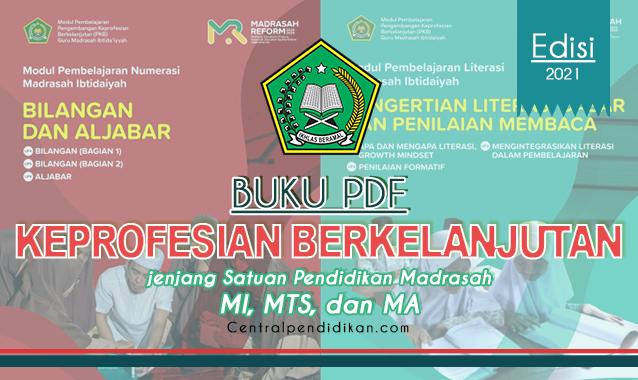 Modul PKB Guru Madrasah MI, MTs, dan MA resmi Kemenag 2021