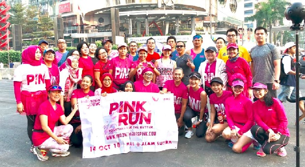 Event Run Indonesia Goes Pink 2018 Telah Sold Out
