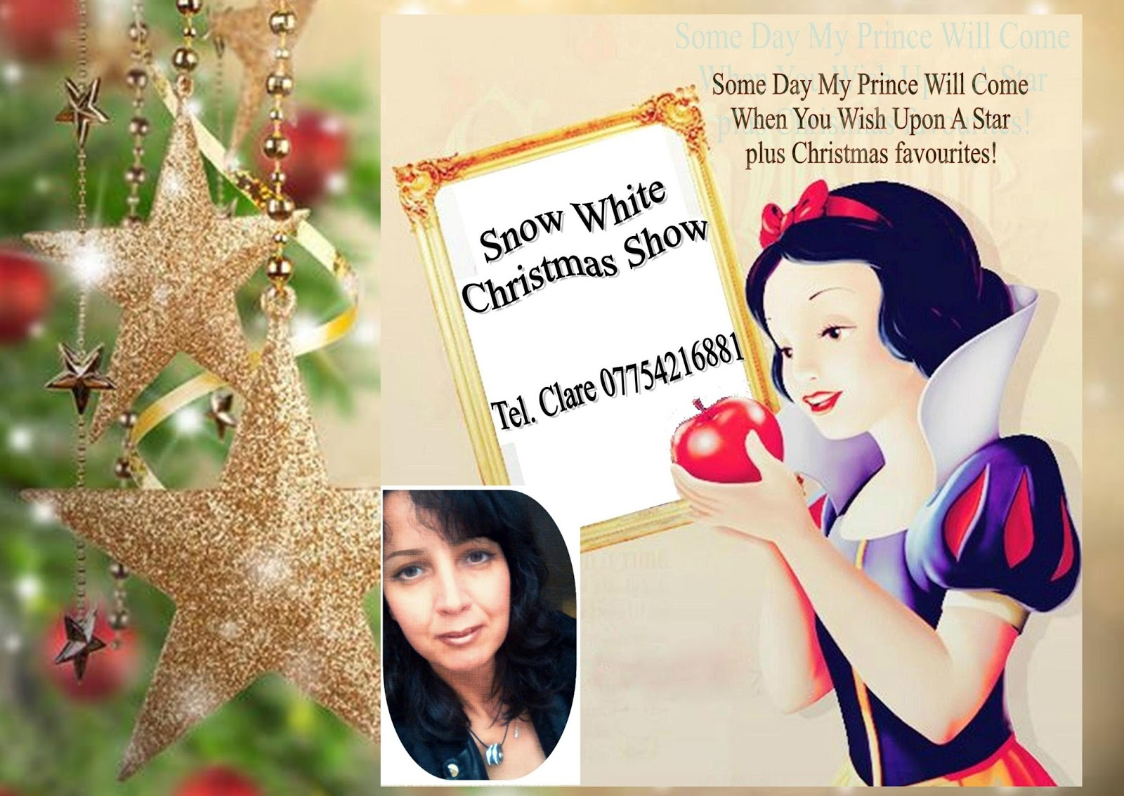 i am getting into the fun panto theme this year for the snow white christmas show a musical tribute to some of the best songs of disney combined with - White Christmas Snow Song