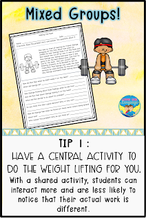 Tip: Use a central theme to connect students' work.