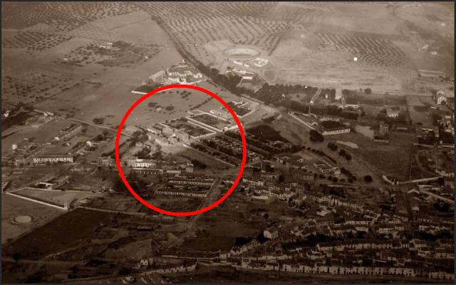 Vista del barrio de la Cruz del Lloro de Martos