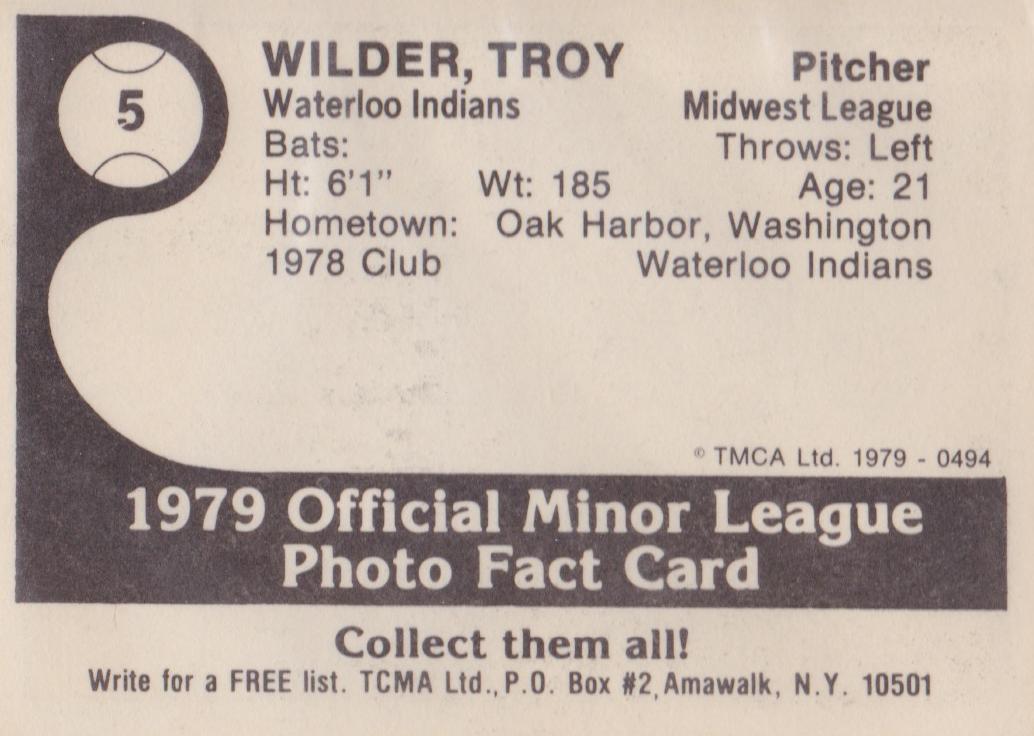 All-Time All Star Teams  Detroit Tigers ROCKY COLAVITO 1984 TCMA Ltd