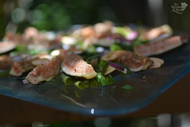 como hacer ensalada de judias verdes e higos 03