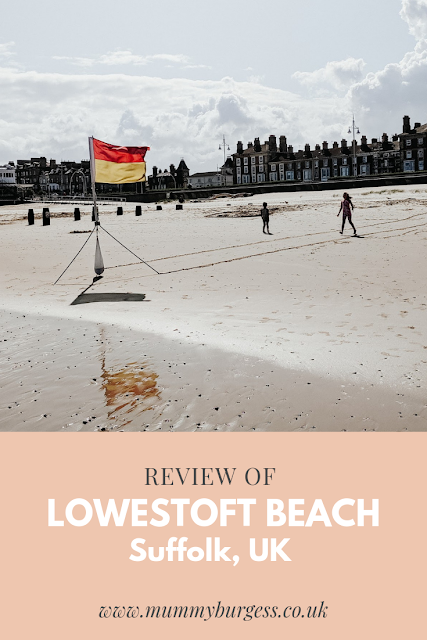 Review of Lowestoft Beach, Suffolk