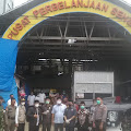 Jelang Lebaran, Ketua DPRD Kabupaten Wajo  Bersama  Komisi II Meninjau Pasar Sentral Sengkang