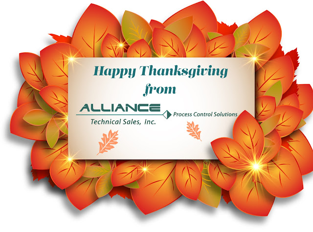 Happy Thanksgiving from Alliance Technical Sales