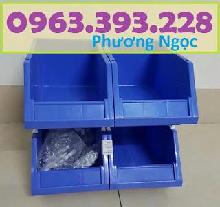 Khay nhựa đựng linh kiện, kệ dụng cụ chống tầng, khay nhựa vát đầu đựng ốc vít