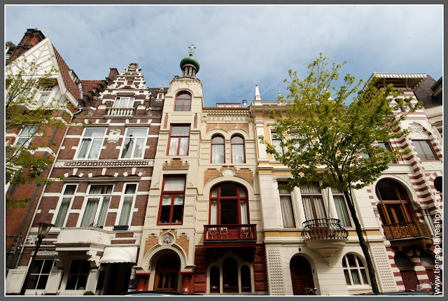 Roemer Vischerstraat Europa Unida Amsterdam (Países Bajos)
