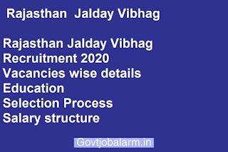 Rajasthan  Jalday Vibhag