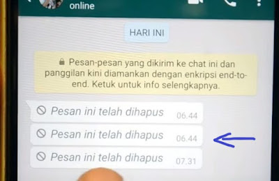 cara mengembalikan pesan whatsapp yang dihapus di iphone