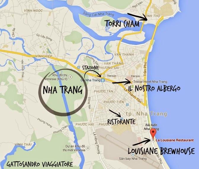 cartina Nha Trang