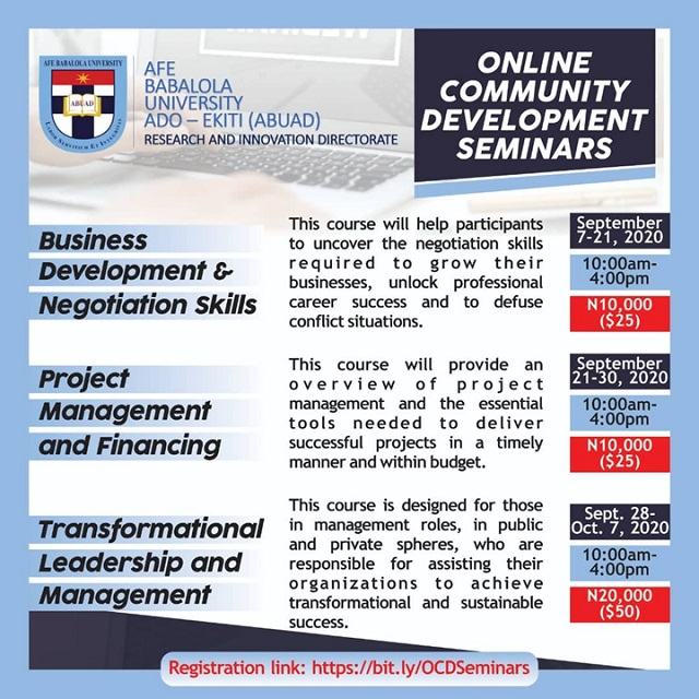 ABUAD-Online-Community-Development-Seminars