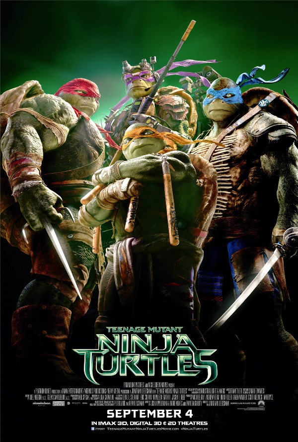 Nonton Film Teenage Mutant Ninja Turtles (2014)