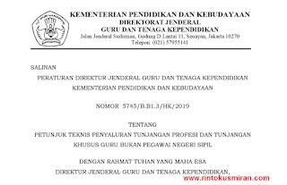 DOWNLOAD JUKNIS PENYALURAN TPG TAHUN 2019