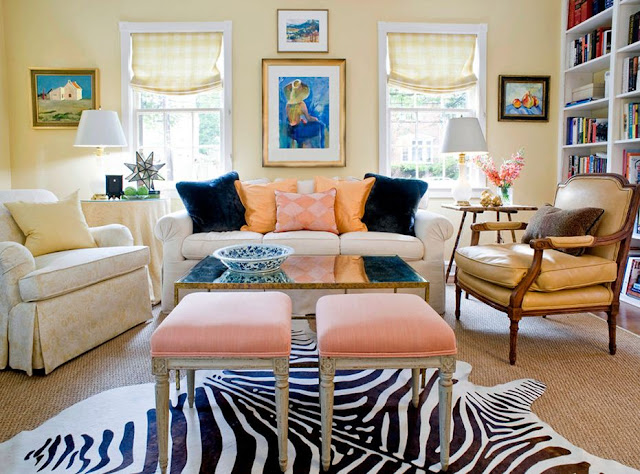 sara tuttle interiors blue pink peach decor