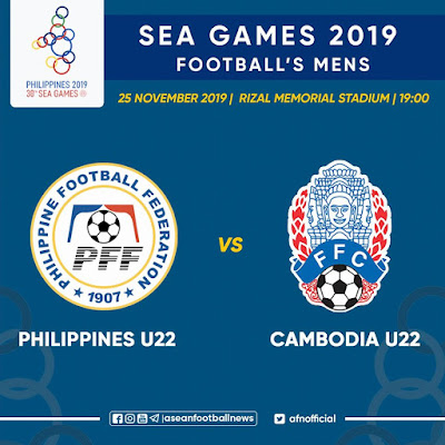 Live Streaming Philippines vs Cambodia (SEA GAMES) 25.11.2019