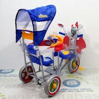 family f902gt unicorn sepeda roda tiga boncengan