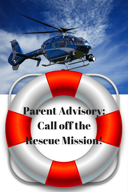 Are you guilty of helicopter parenting? Do you constantly jump in to rescue your children? 4 unanticipated consequences you will want to consider!