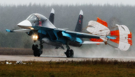 Russian Sukhoi Su-34 Fullback Tactical Fighter Bomber