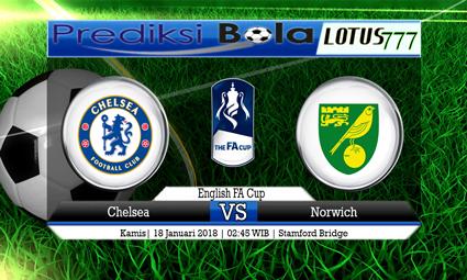 PREDIKSI SKOR Chelsea vs Norwich 18 Januari 2018