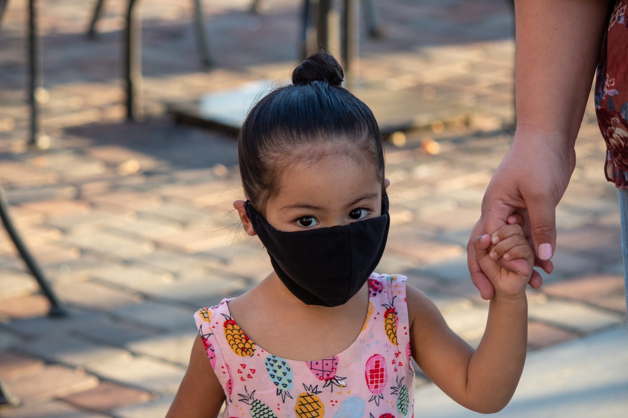 wearing masks in the Montessori environment