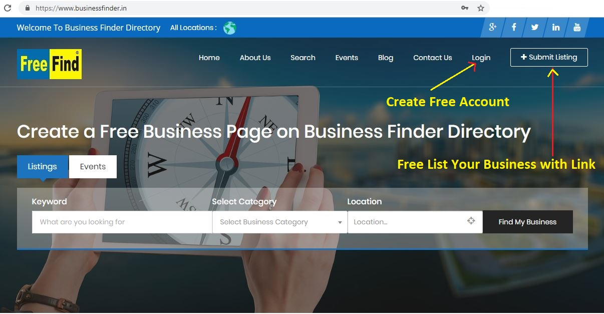 Free Business Listing Directory for List Your Business