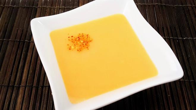 Sauce citron, carotte et orange par Mauro Colagreco