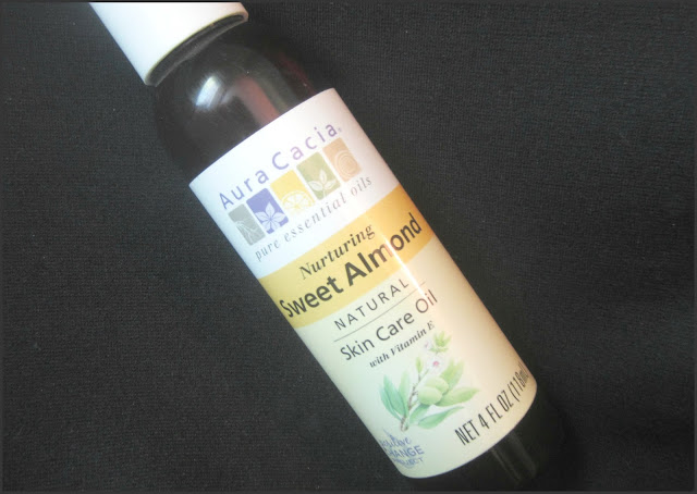 Aura Cacia Nurturing Sweet Almond Skin Care Oil w/ Vitamin E