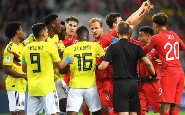 England beat Colombia 4-3 on penalties to reach 2018 FIFA World Cup quarter-finals