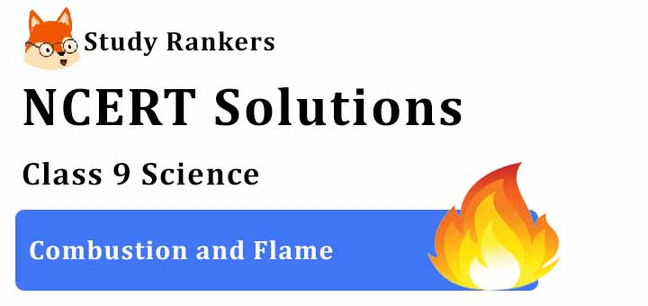 NCERT Solutions for Class 8 Science Chapter 6 Combustion and Flame