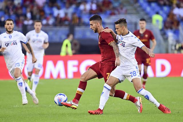 ملخص اهداف مباراة روما وامبولي (2-0) الدوري الايطالي
