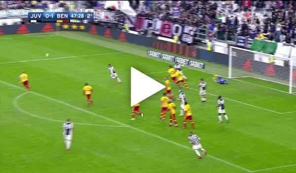 Video Juventus 2 - 1 Benevento Serie A vòng 12