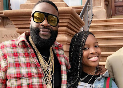 Rick Ross Postpones Daughter's Sweet 16 Party due to Health Scare