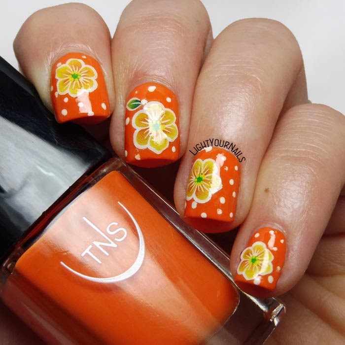 Nail art flowers fiori