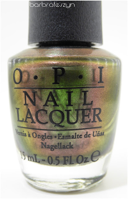 Recenzja OPI - Green On The Runway