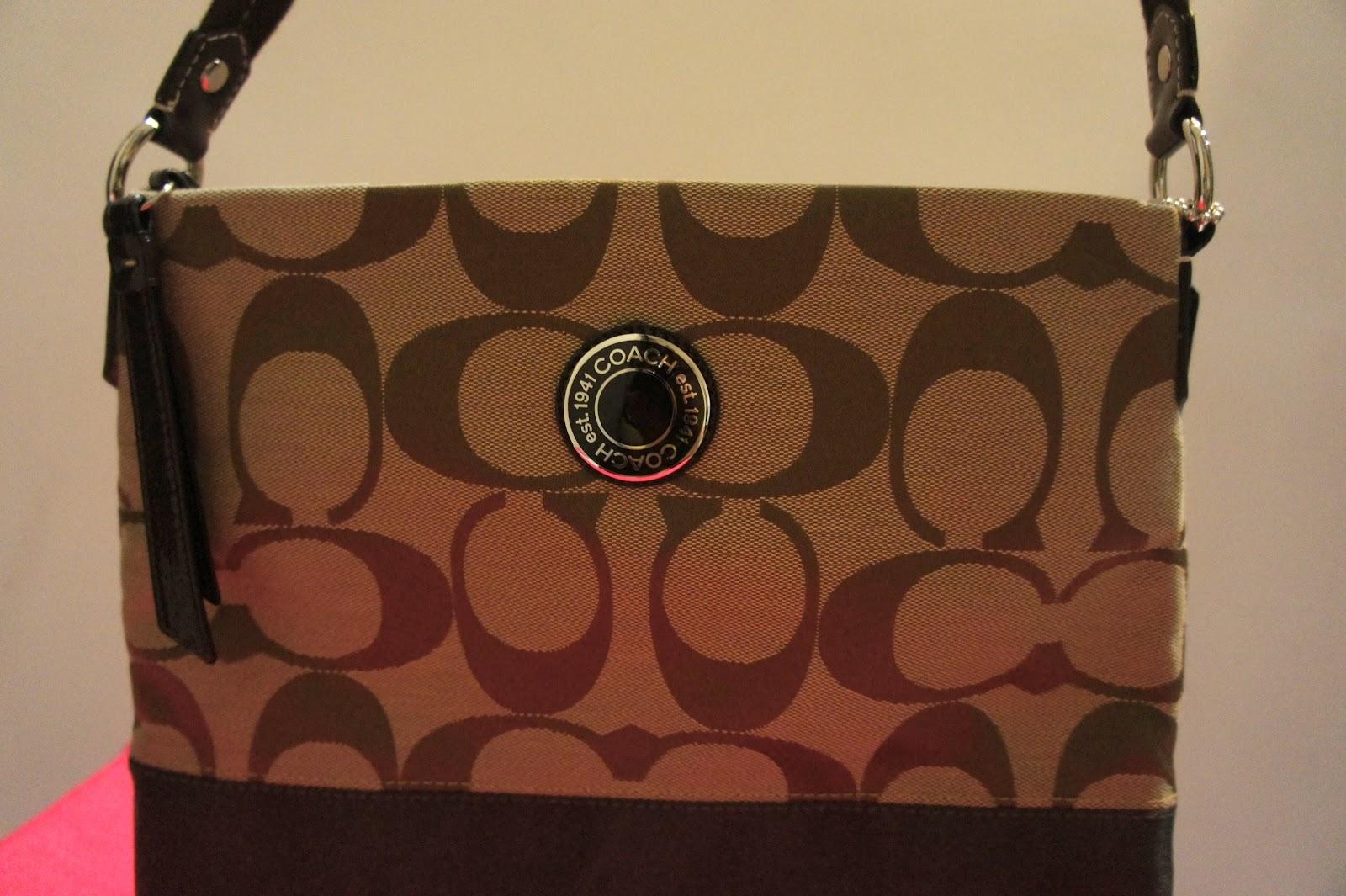 Queen's closet: Coach sling bag @ $240 - brown (SOLD)