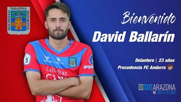 Oficial: SD Tarazona, firma David Ballarín