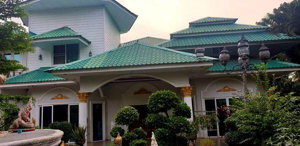 ขายบ้านเดี่ยวหลังใหญ่ 7 ห้องนอน 8 ห้องน้ำ บางละมุง ชลบุรี ขายรวมเฟอร์นิเจอร์ทั้งหมด