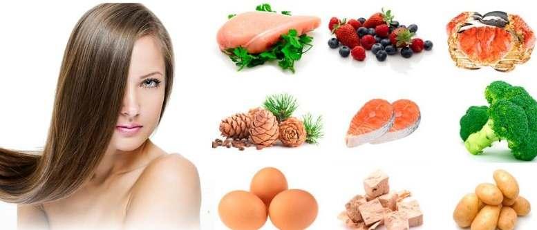 النظام الغذائي المناسب لتخفيف فقدان الشعر لدى الرجال والنساء
