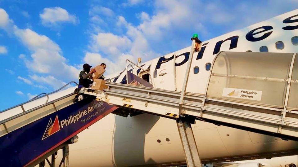 Philippine Airlines cargo flights