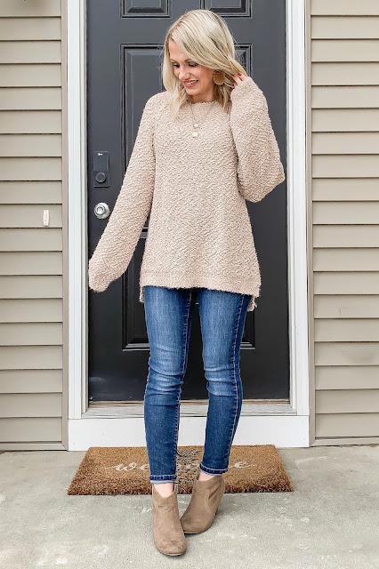 First Trimester Winter Outfits- What to Wear Before the Bump