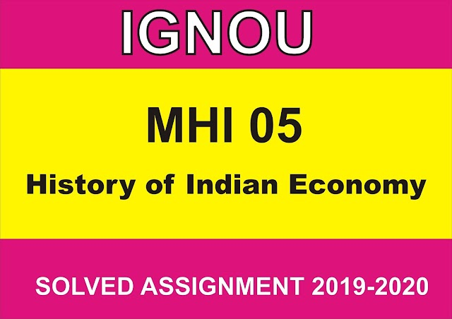 MHI 05 Solved assignment 2020-21