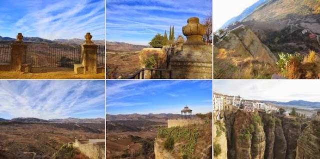 New Year's Eve in Malaga for one week: Scenic Views from Ronda, Spain