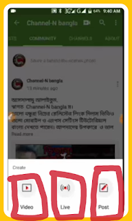 Post features by get 1000 subscribe in youtube channel